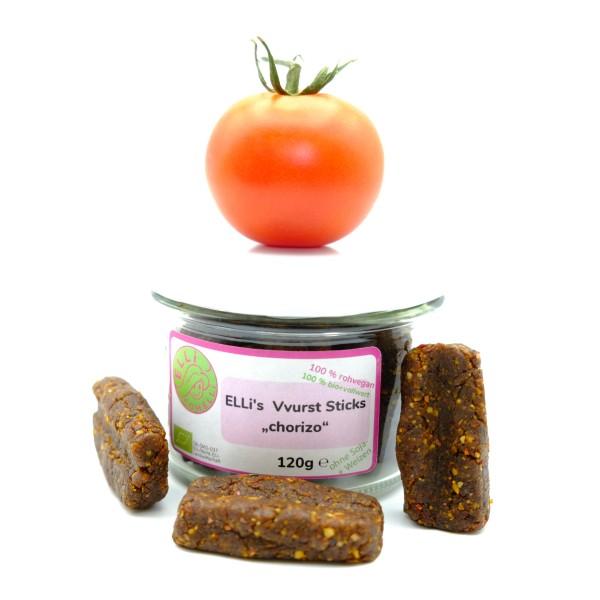 Chorizo Vegane Wurst - vegan rohkost bio vollwert