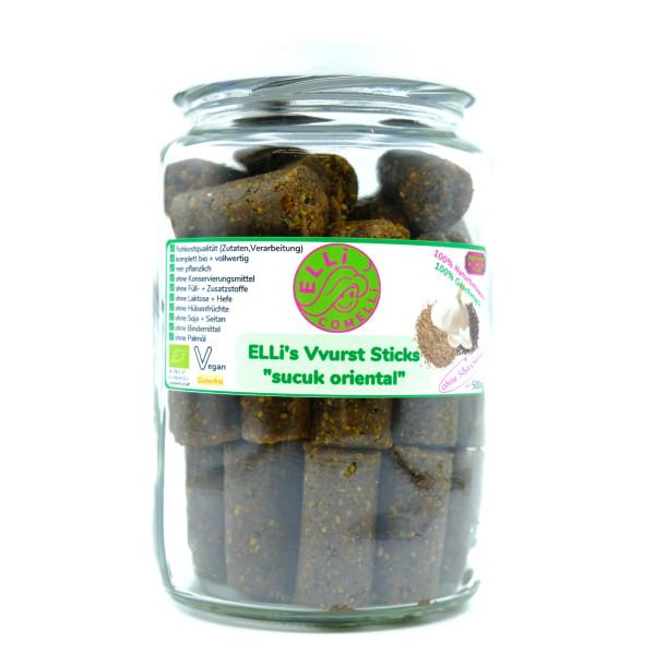 Großpackung Sucuk, Vegane Wurst - rohkost bio vollwert