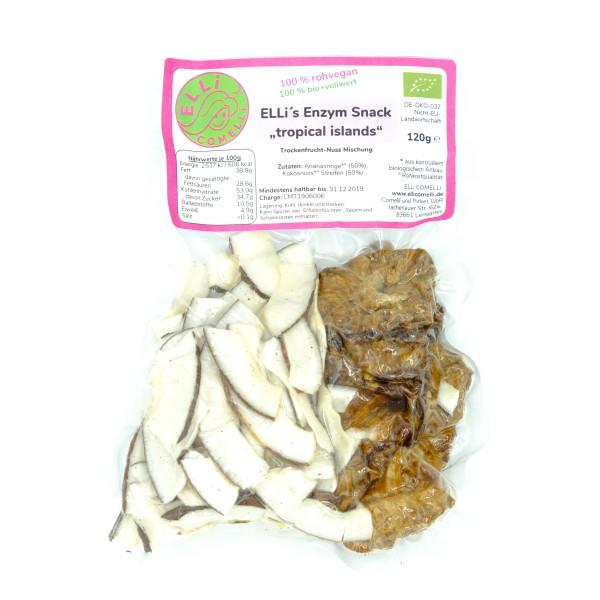 "ELLi's Enzym-Snack ""tropical islands"", bio+roh"
