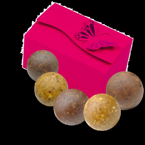 Valentinstags - Süße Geschenkbox - Rohkost Konfekt Bio